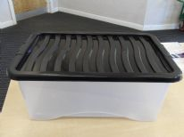 Proplas Box with Lid - 65L